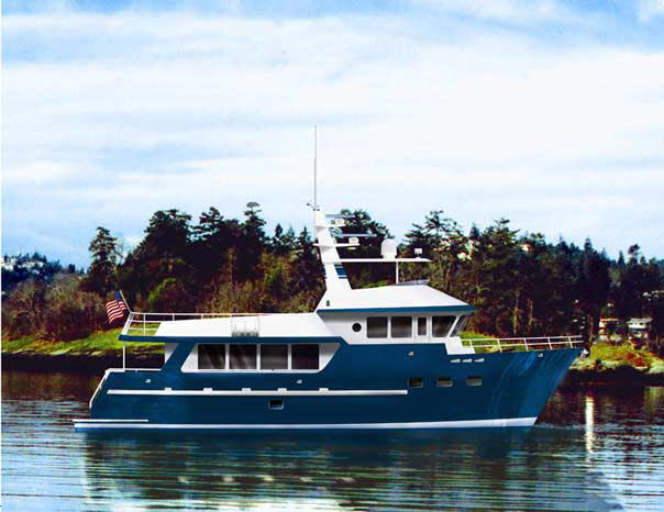 Expedition Trawler - Work Boat
